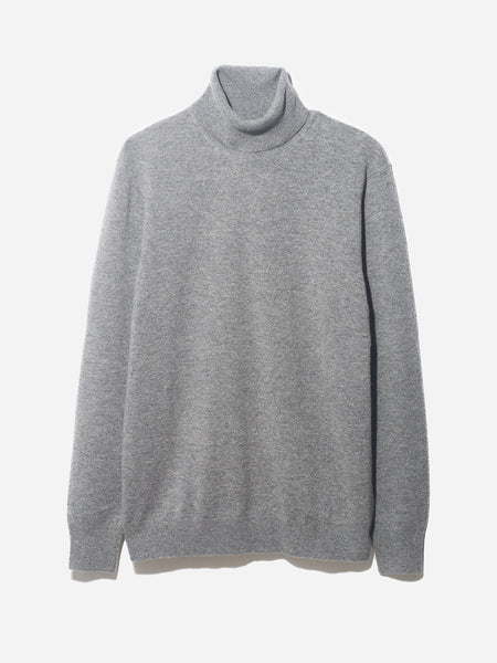 ROLL NECK SWEATER ONS CLOTHING GREY