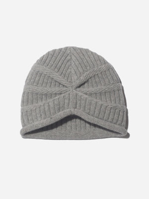 KNIT CAP LT. GREY