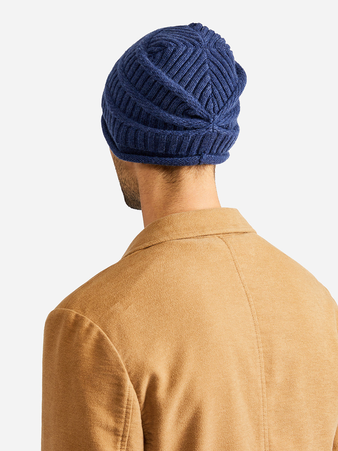 KNIT CAP BLUE