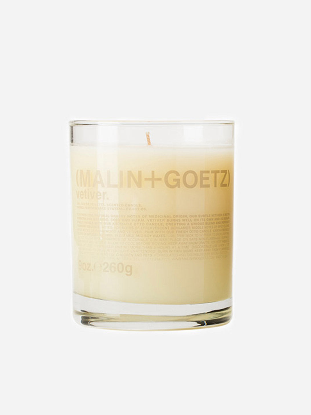VETIVER CANDLE MALIN AND GOETZ