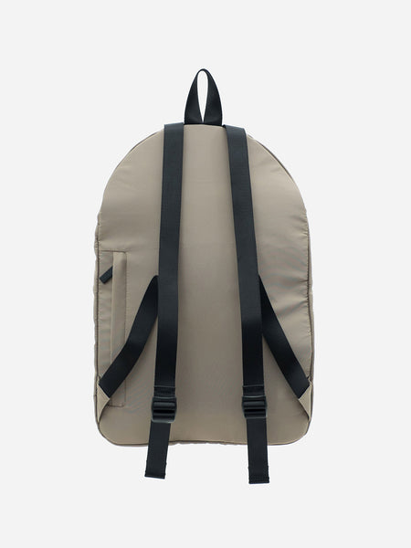 TEDDYFISH SMALL NYLON BACKPACK BEIGE