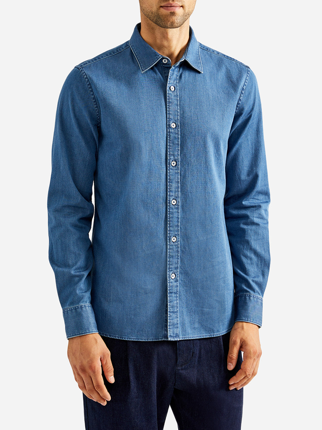 ADRIAN DENIM SHIRT INDIGO