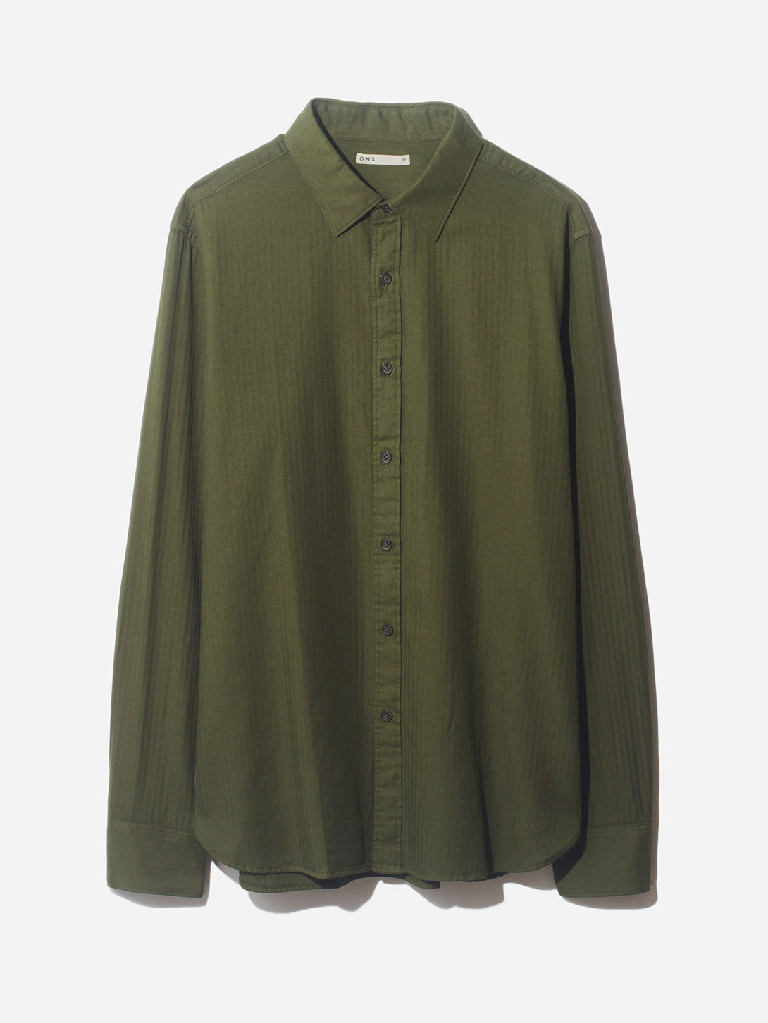 ADRIAN GARMENT DYED SHIRT ROSIN