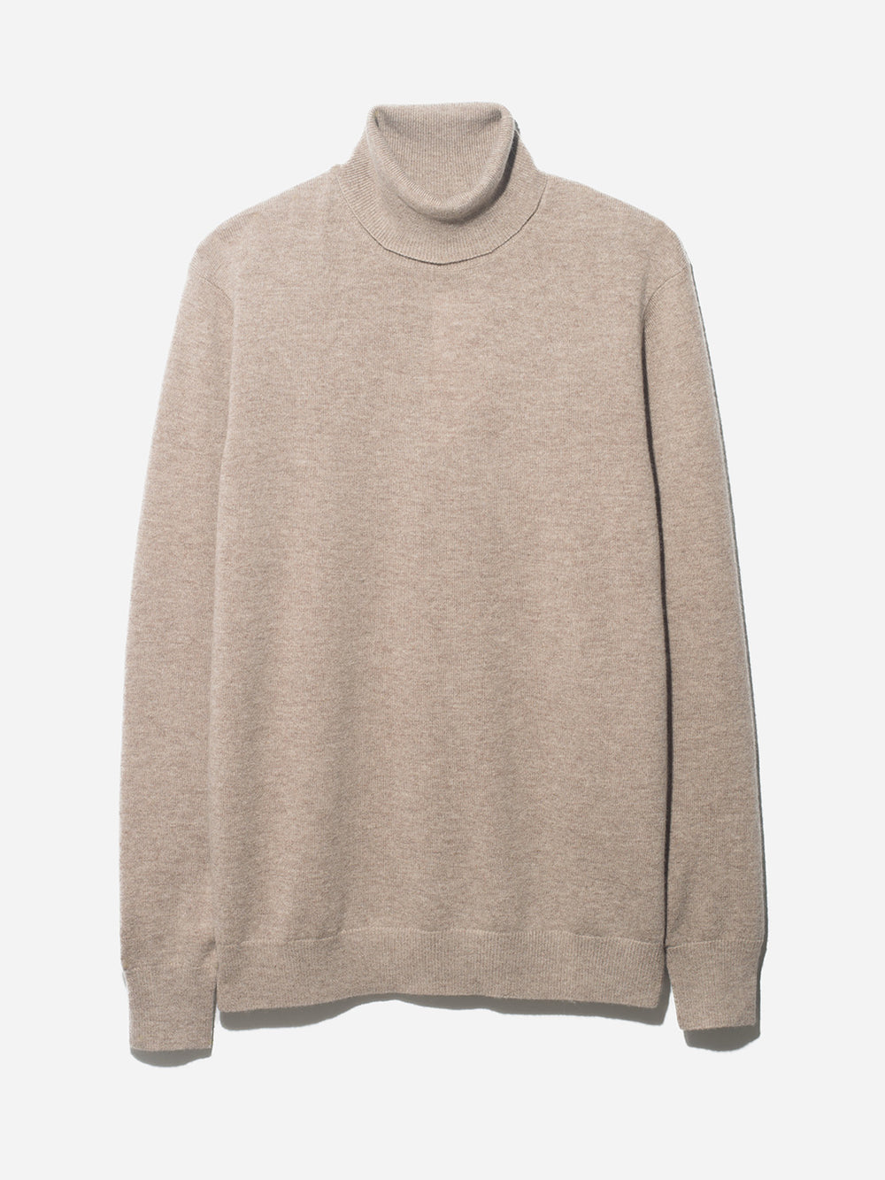ROLL NECK SWEATER ONS CLOTHING TAN