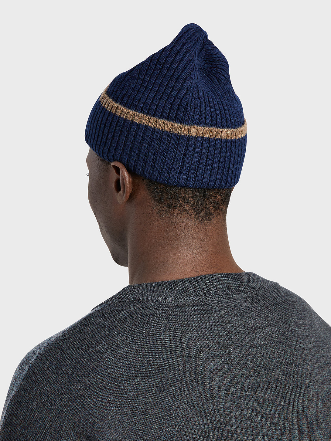 black friday deals ONS Clothing Men's beanie in NAVY
