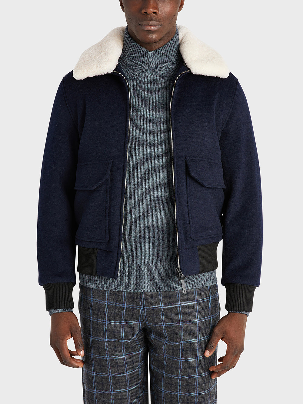 ONS Clothing Men's jacket in NAVY black friday deals