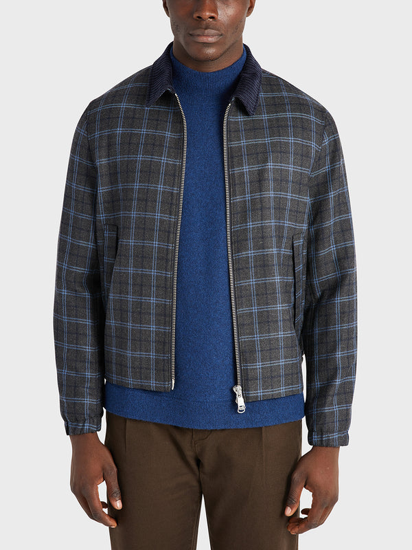 black friday deals ONS Clothing Men's outerwear in DK GREY CHECK