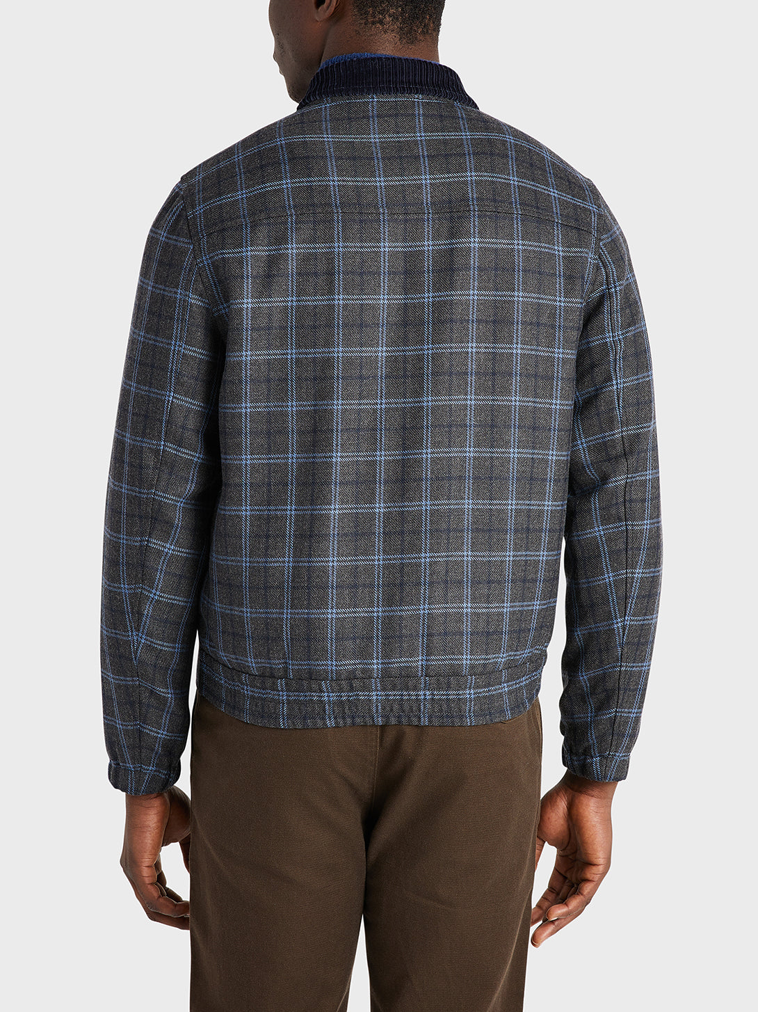 ONS Clothing Men's outerwear in DK GREY CHECK
