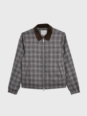 ONS Clothing Men's outerwear in LT GREY CHECK