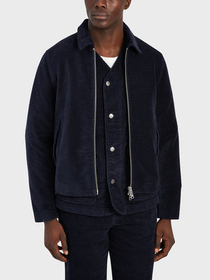 black friday deals ONS Clothing Men's CONNOR CORD JACKET in NAVY