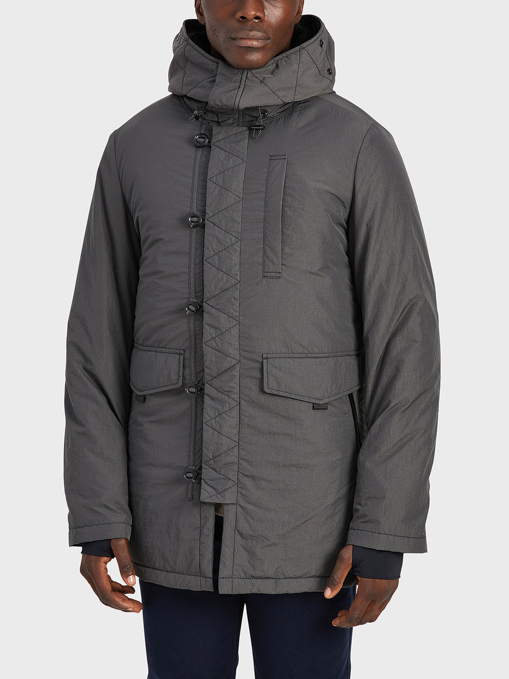 black friday deals ONS Clothing Men's jacket in DK GREY