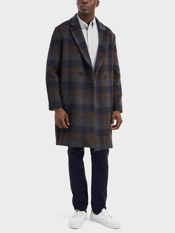 ONS Clothing Men's outerwear in DK BROWN CHECK black friday deals