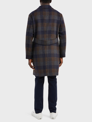 ONS Clothing Men's outerwear in DK BROWN CHECK