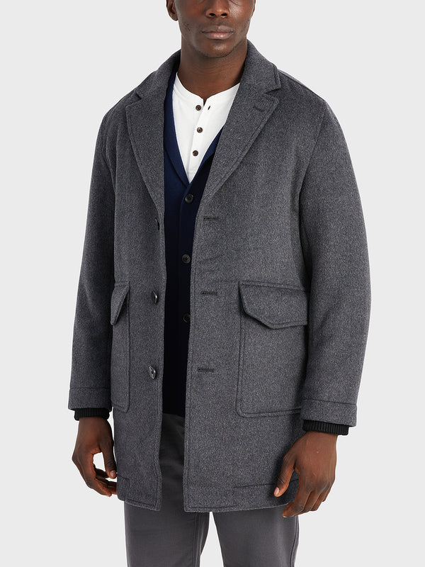 black friday deals ONS Clothing Men's outerwear in DK GREY