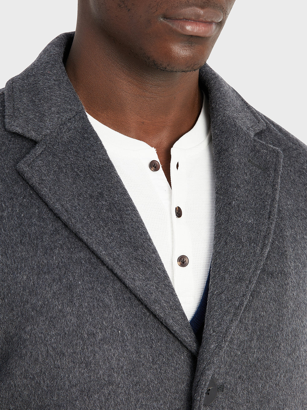 ONS Clothing Men's outerwear in DK GREY