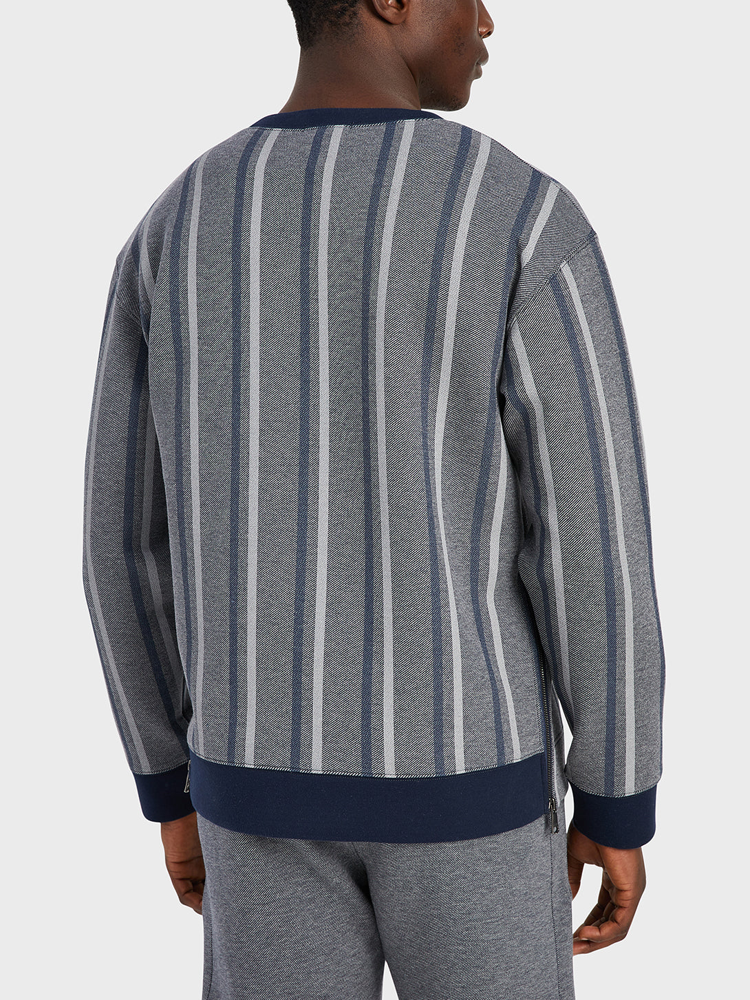 black friday deals ONS Clothing Men's sweater in NAVY STRIPE