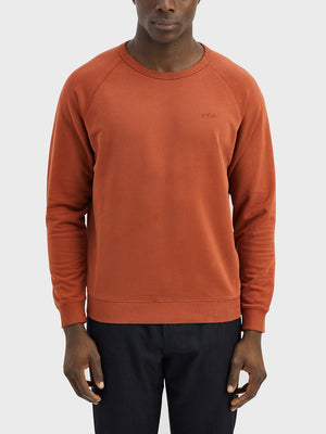 black friday deals ONS Clothing Men's Sweatshirt in BURNT HENNA