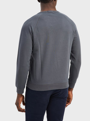 black friday deals ONS Clothing Men's Sweatshirt in CHARCOAL