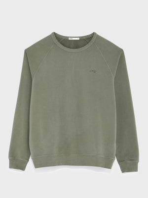 black friday deals ONS Clothing Men's Sweatshirt in Olive
