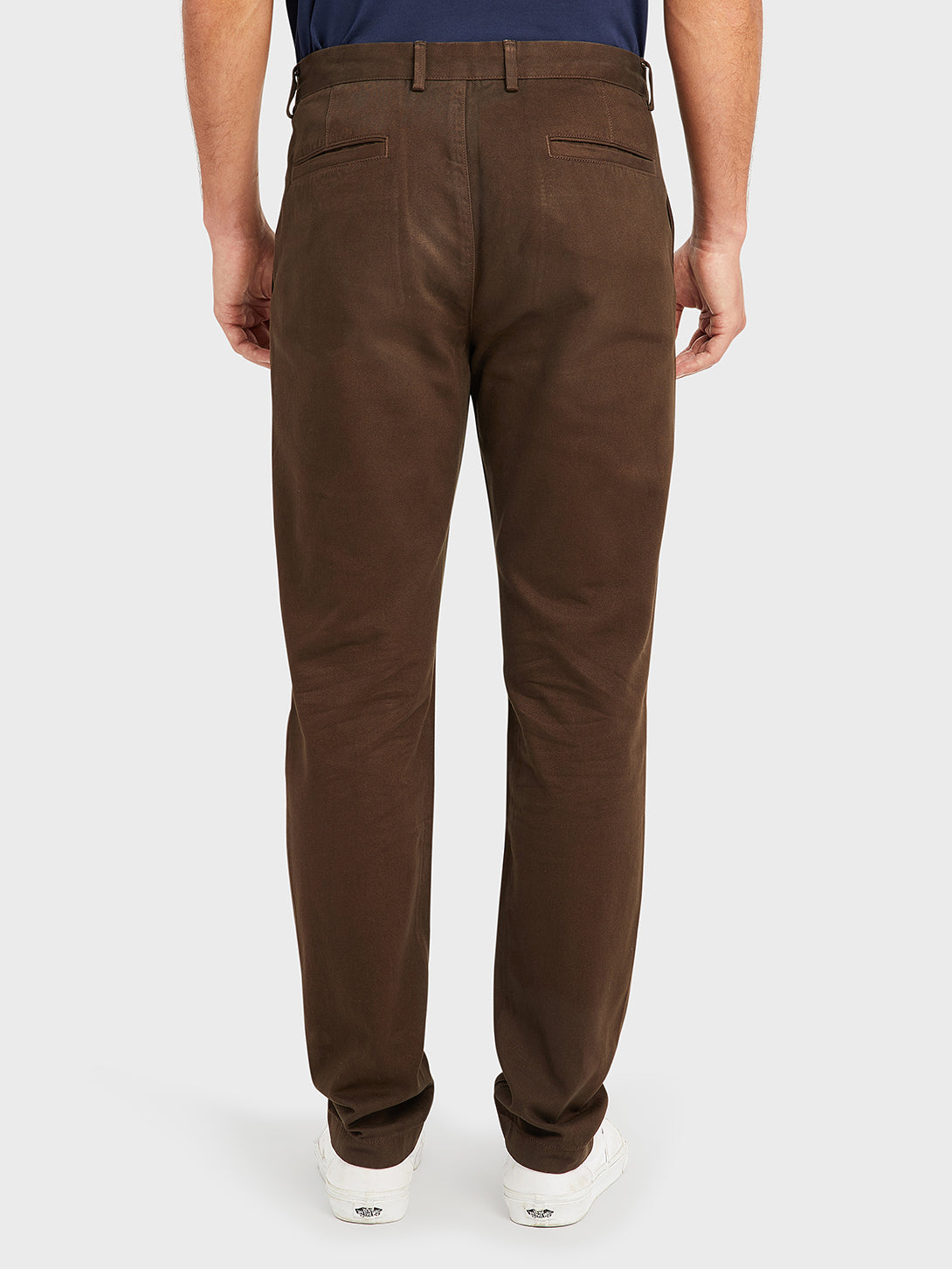 ONS RIDER CHINO Pre-shrunk Cotton Men's Chino for big thighs DK BROWN PANTS black friday deals