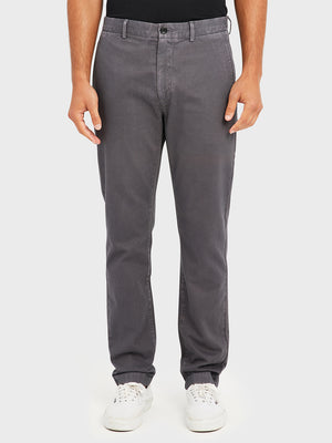 ONS RIDER CHINO Pre-shrunk Cotton Men's Chino for big thighs DK GREY PANTS black friday deals