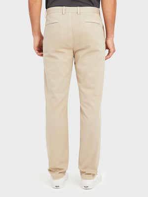ons rider chino Pre-shrunk Cotton Men's pants for big thighs Khaki