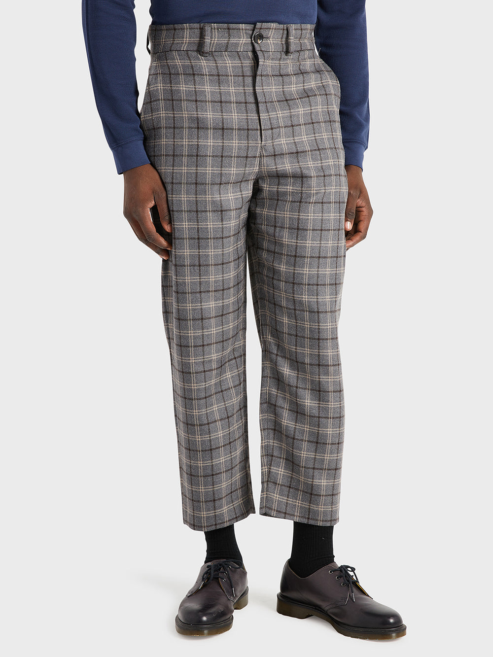 black friday deals ONS Clothing Men's CROSBY WOOL PANTS in LT GREY CHECK