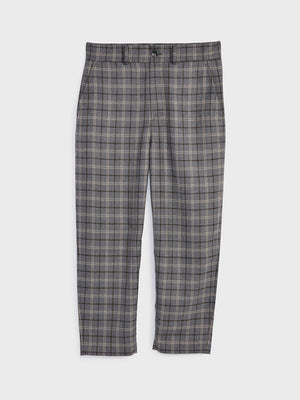 ONS Clothing Men's CROSBY WOOL PANTS in LT GREY CHECK