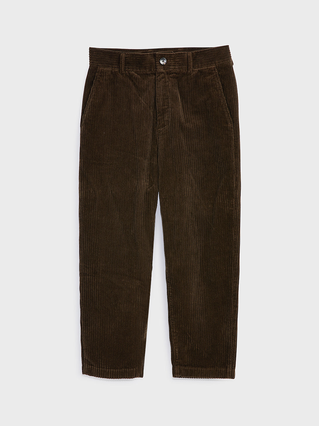 black friday deals ONS Clothing Men's CROSBY CORDUROY PANTS in DK BROWN