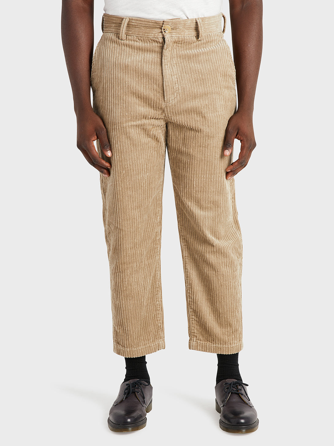 black friday deals ONS Clothing Men's CROSBY CORDUROY PANTS in KHAKI