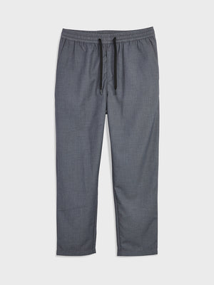 ONS Clothing Men's EMLYN CANVAS JOGGER in DK GREY