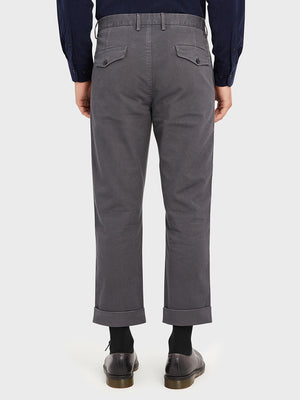 ONS Clothing Men's MODERN CHINO in DK GREY