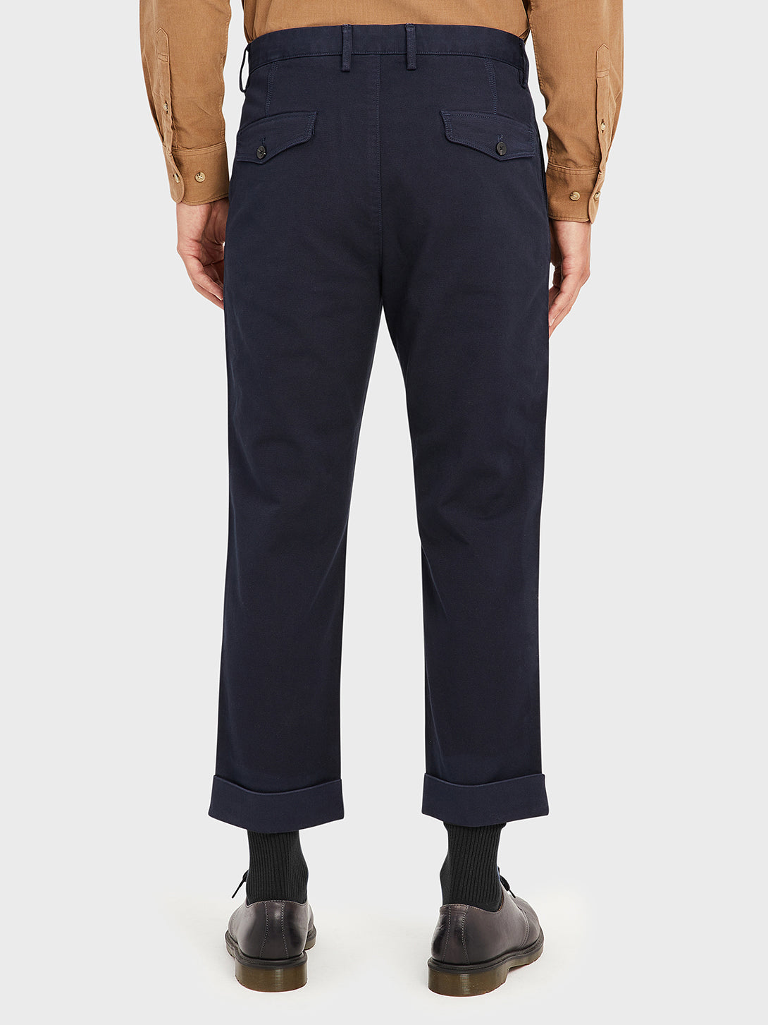 ONS Clothing Men's MODERN CHINO in NAVY