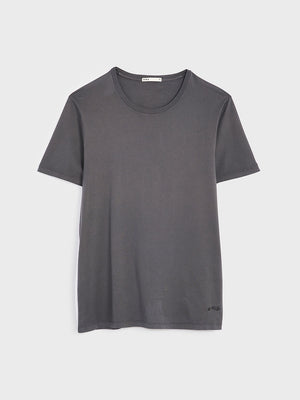 ONS VILLAGE CREW NECK TEE CHARCOAL GRAY 100% Supima Cotton, Pre-shrunk cotton black friday deals