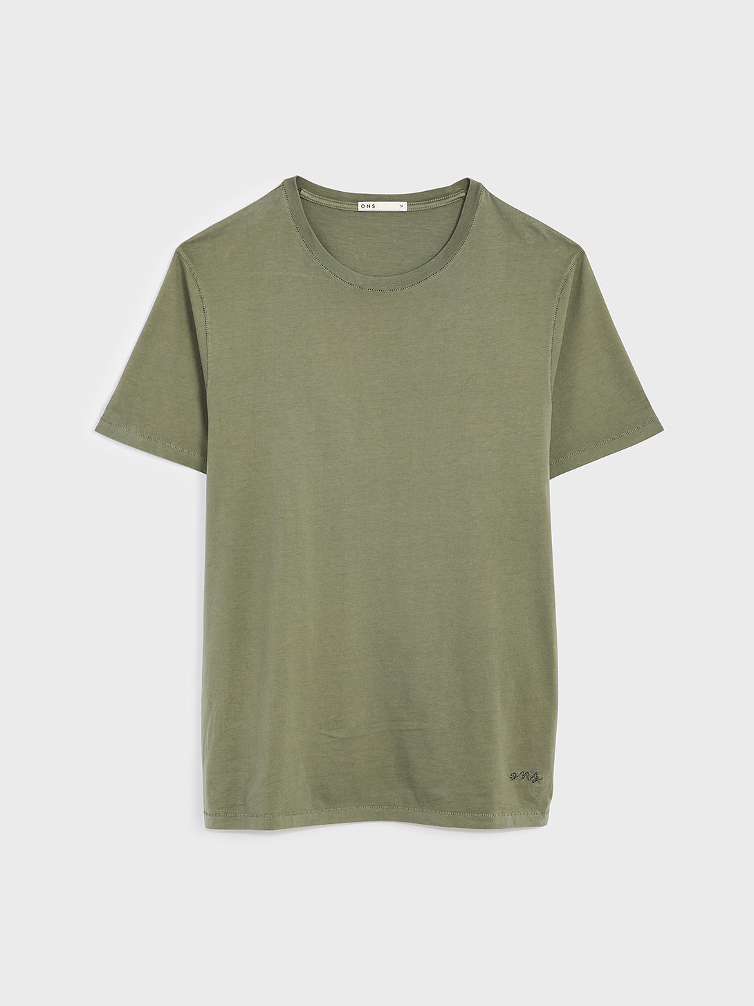 ONS VILLAGE CREW NECK TEE OLIVE GREEN 100% Supima Cotton, Pre-shrunk cotton black friday deals