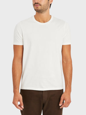ons village crew neck tee White 100% Supima Cotton, Pre-shrunk cotton. Round-neck Tee. Round-neck men's Tee