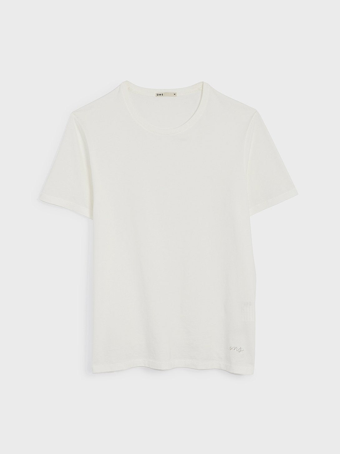 ons village crew neck tee White 100% Supima Cotton, Pre-shrunk cotton. Round-neck men's Tee