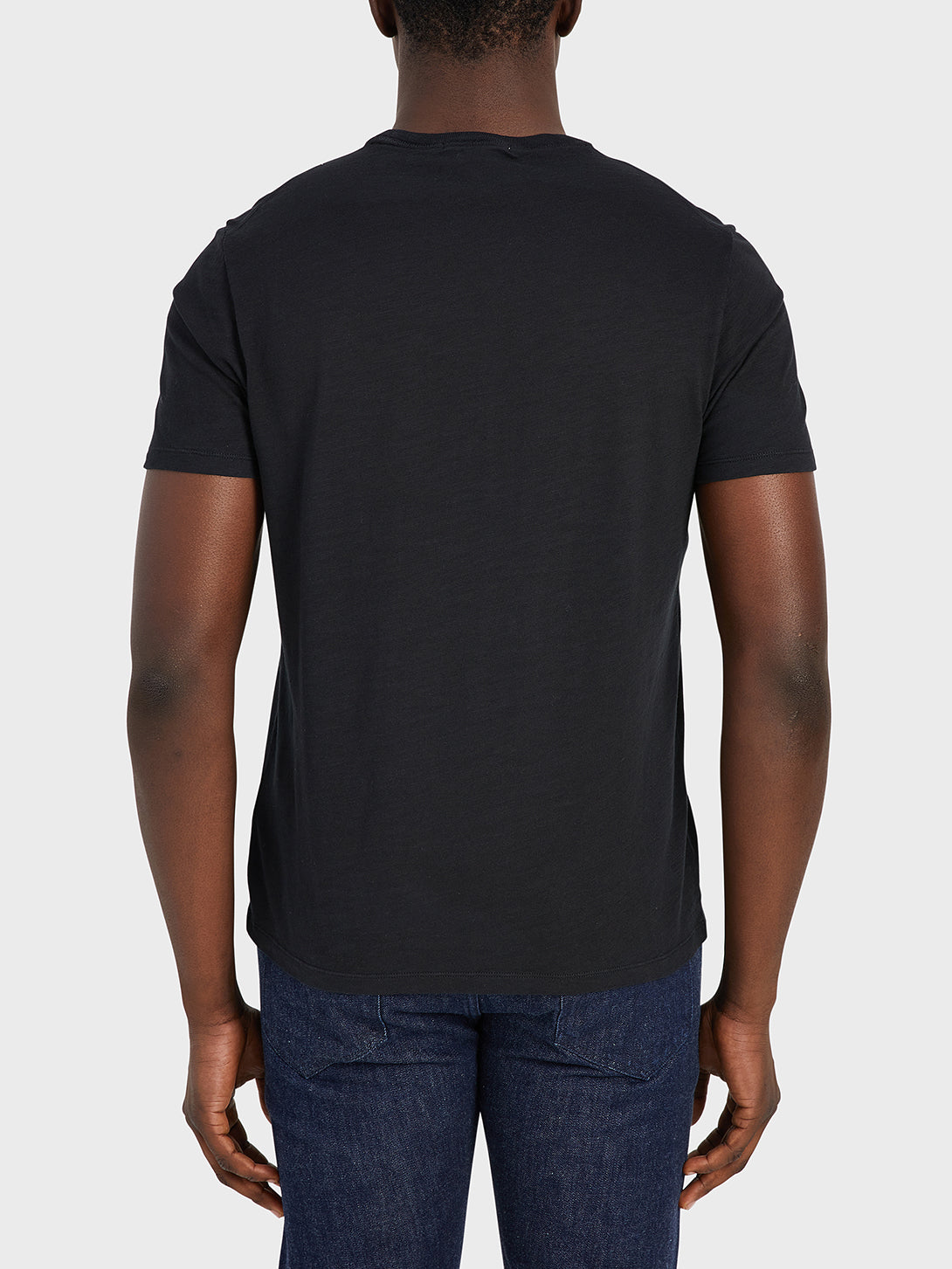 ONS Clothing Men's Bowery Slub Pocket tee in Black