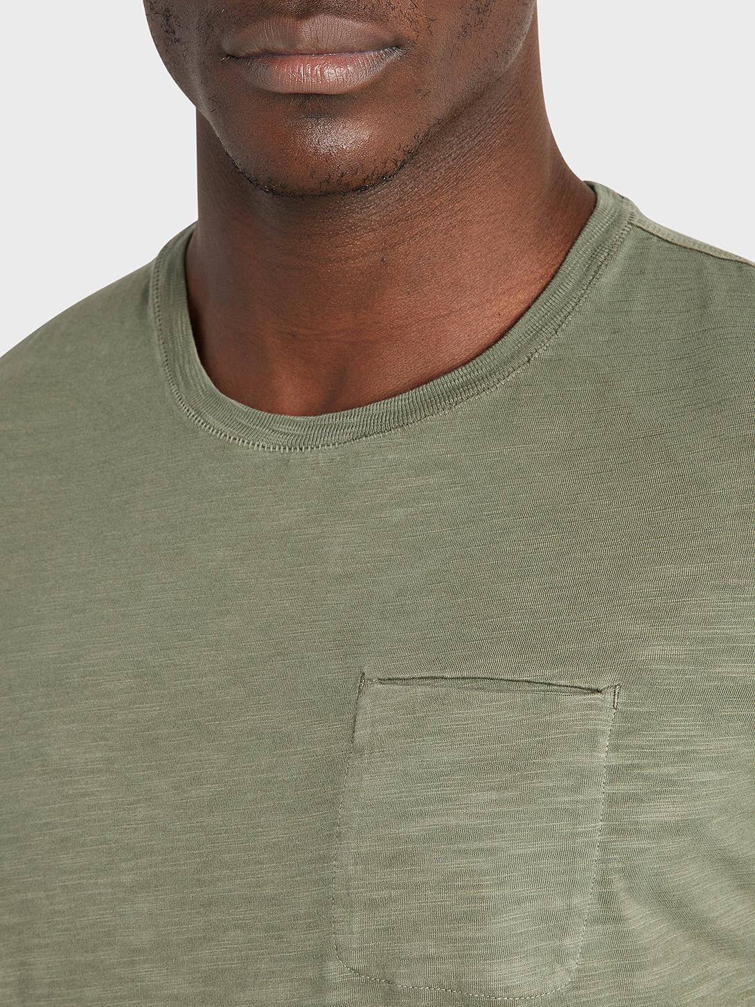 ONS Clothing Men's tee in OLIVE