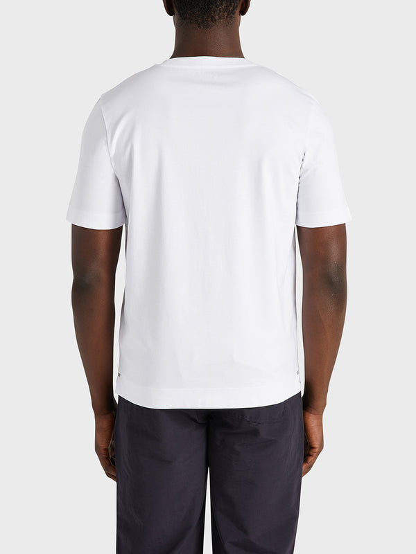 black friday deals ONS Clothing Men's Baseile Pocket Tee in WHITE