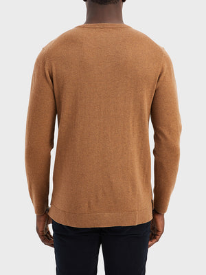 ONS Clothing Men's sweater in COFFEE black friday deals