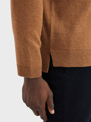 ONS Clothing Men's sweater in COFFEE