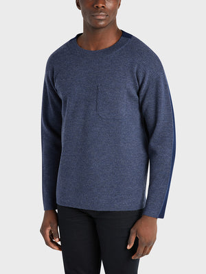 black friday deals ONS Clothing Men's sweater in HEATHER NAVY