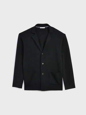 black friday deals ONS Clothing Men's Cole wool cardigan in BLACK