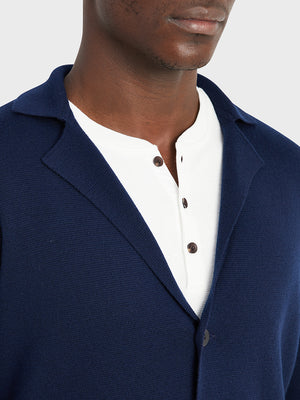 black friday deals ONS Clothing Men's Cool wool cardigan in NAVY