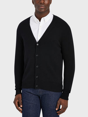 ONS Clothing Men's cardigan in BLACK black friday deals