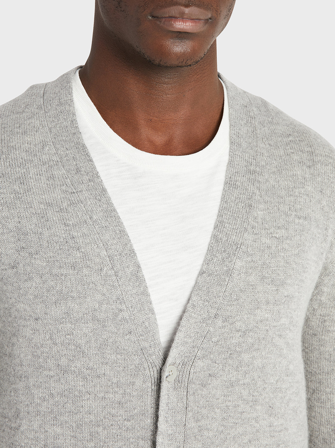 ONS Clothing Men's cardigan in GREY black friday deals