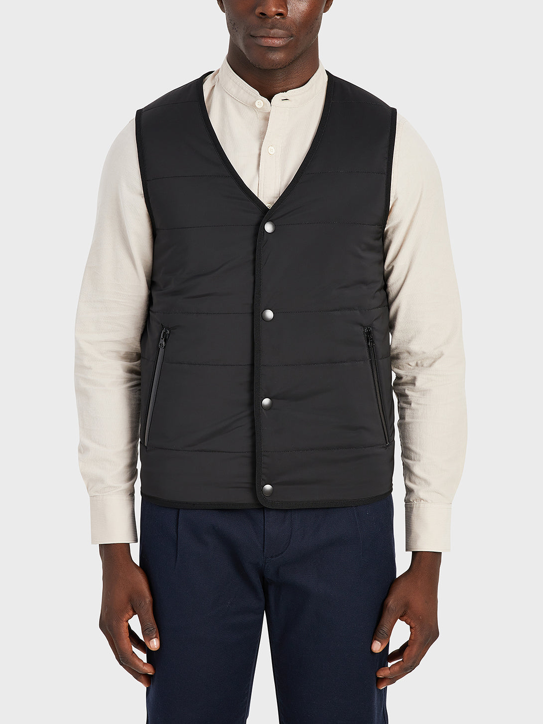 ONS Clothing Men's vest in DK GREY black friday deals