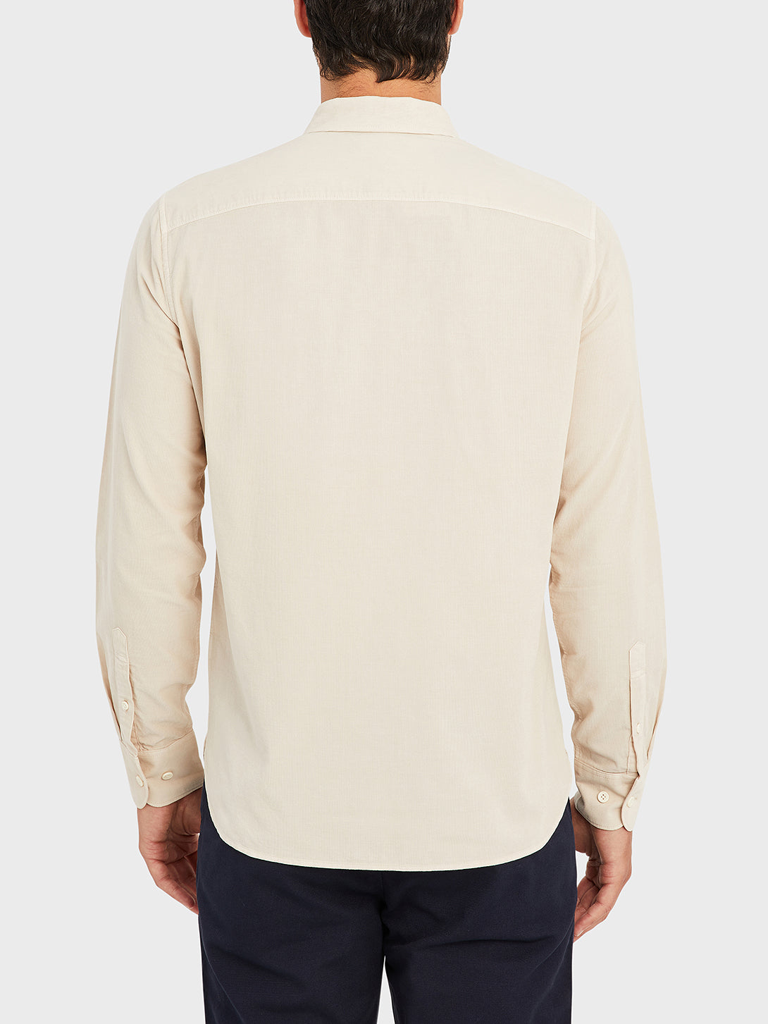 ONS Clothing Men's FULTON CORD SHIRT in CEMENT