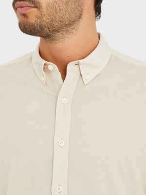 black friday deals ONS Clothing Men's FULTON CORD SHIRT in CEMENT